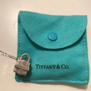 Tiffany & Co. Gift Charm Necklace